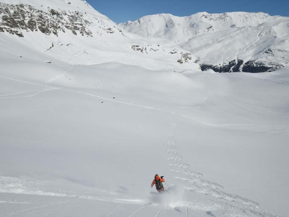 Henry Schniewind Off Piste Val d'Isere