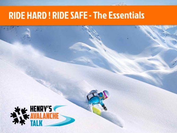 Henry's Avalanche Talk - The Essentials