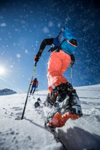 off piste safety training HAT Ortovox