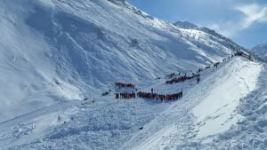Fatal accident in Tignes