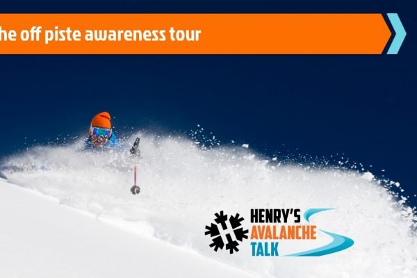 The off piste awareness tour from Henry's Avalanche Talk